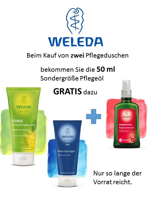 Weleda Sommeraktion Königs-Apotheke