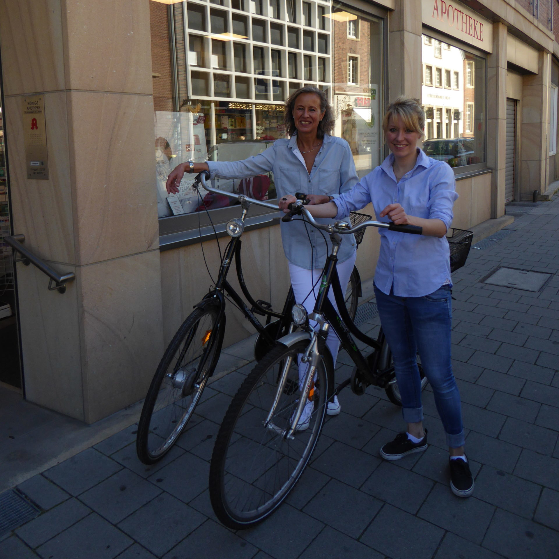 Fahrradbote Königs-Apotheke Münster